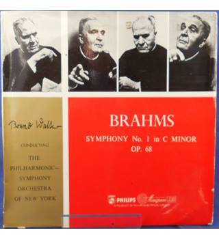 Brahms: Symphony No. 1 in C Minor - Bruno Walter  ABR 4037
