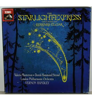 Edward Elgar - The Starlight Express - London Philharmonic Orchestra conducted by Vernon Handley, Valerie Masterson - SLS 5036