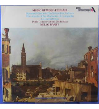 Music of Wolf-Ferrari: Nello Santi  - SDD 452