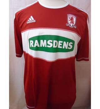 Adidas - Middlesborough - Size: XL - Red - Football Top