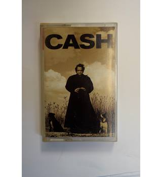 Johnny Cash ‎– American Recordings CASSETTE