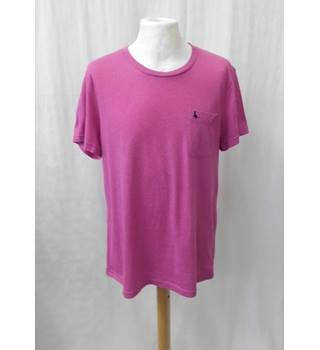 Jack Wills - Size: L - Pink - Short sleeved top