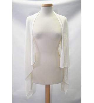 Miss Selfridge size: S white cardigan