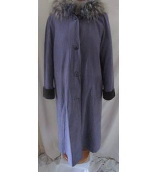 City Classic - Size: 8 - Lavender purple - Hooded, lined coat
