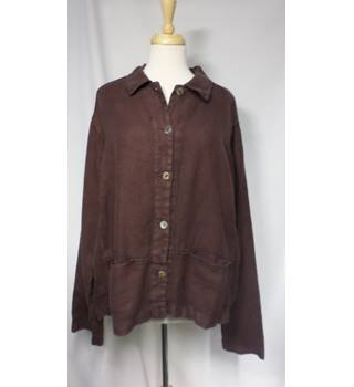 Cut Loose - Size: L - Brown - Casual jacket / coat