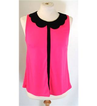 Jane Norman size 12 bright pink top