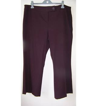 "Windsmoor - Size: 40"" - Purple - Wool trousers"