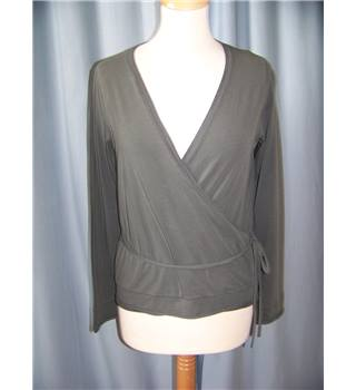 Laura Ashley - Size: 14 - Grey - Blouse