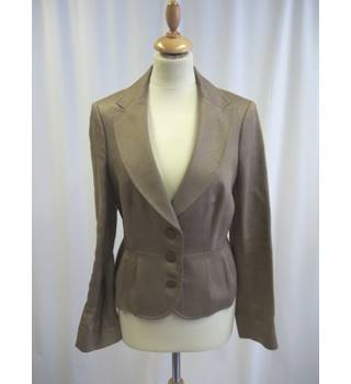 Jaeger - Size: 12 - Brown - Smart jacket