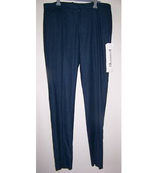 "Canvas by Lands End - Size: 40"" - Blue - Trousers"