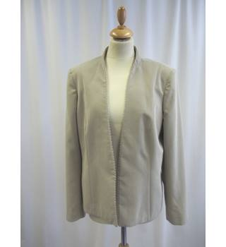 Jacques Vert - Size: 18 - Beige - Smart jacket / coat