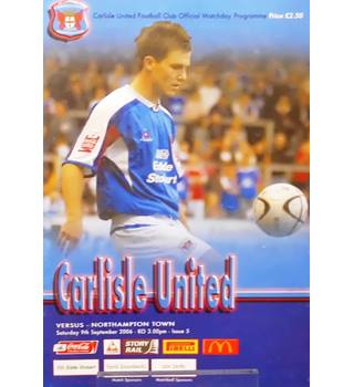 Carlisle United v Northampton Town - League One - 9th September 2006