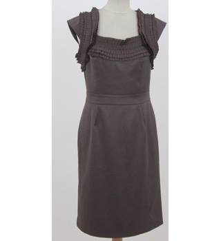Reiss, Size: 10, Brown  Shimmery Dress