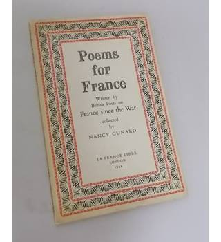 Poems for France