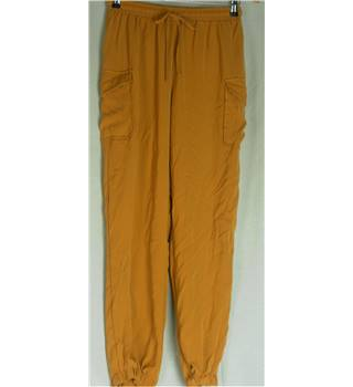 Missguided - Size: 12 - Yellow - Sweat pants