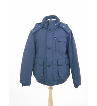 "NWOT M&S Blue Harbour size: chest: 41"" - 43"" navy blue jacket"