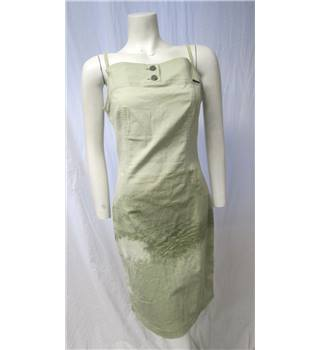 Cappopera Jeans Couture size M pale green denim dress
