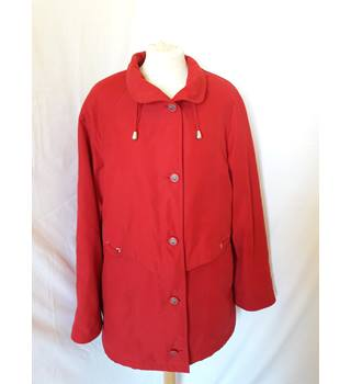 BHS - Size: 10 - Red - Casual jacket / coat
