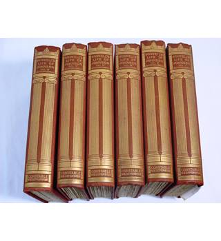 Boswell's Life Of Johnson, Edited by Augustine Birrell.  In 6 Vols