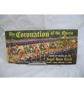 The Coronation of the queen Stand-Up Model of the Royal State Coach