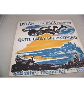 quite early one morning and other memories dylan thomas - tc 1132