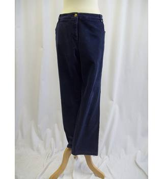 "Viyella - Size: 40"" - Blue - Corded Trousers"