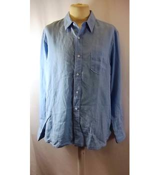 Timberland - Size: L - Blue - Long sleeved Shirt