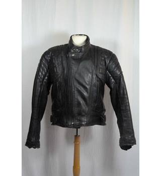 Classic Leather Motorcycle Jacket by Akito Mercury Plus in ...