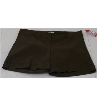 BNWT Micles size XXL brown shorts