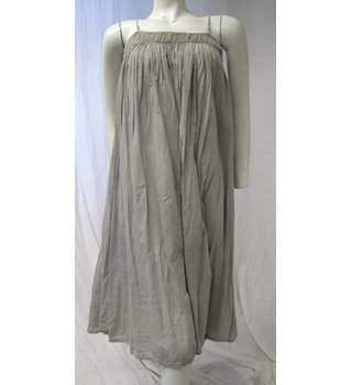Rabene Saloner size XS grey loose fitting cotton dress