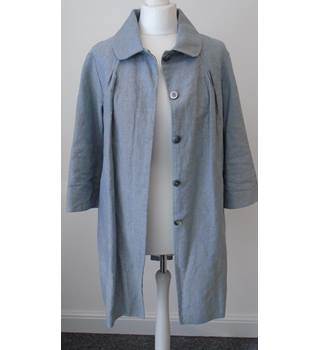 Paul & Joe Linen Mix Smock Coat  - Size: M