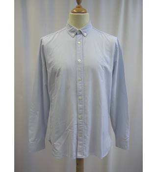 Jaeger - Size: M - White - Long Sleeved Shirt