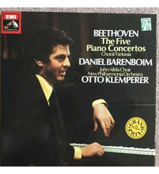 Beethoven - The Five Piano Concertos Beethoven/Barenboim/Klemperer