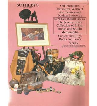 Sotheby's- Oak Furniture, Metalwork, Works of Art, Textiles and Doulton Stoneware