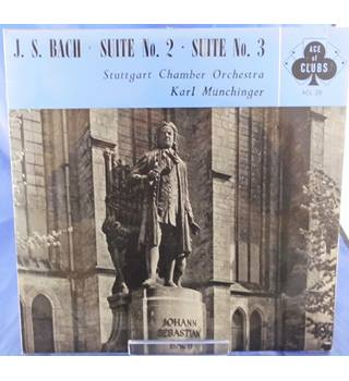 J.S. Bach: Suite No.2/3 - Karl Munchinger - ACL 29