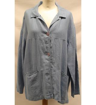 Monsoon - Size: M - Blue - Casual jacket / coat