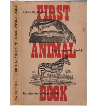 First Animal Book - Ruthven Todd