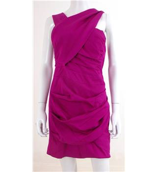 Reiss Size: 12 Pink Mini Dress