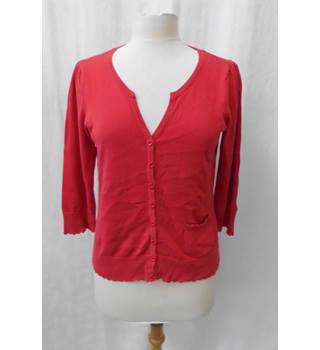 Monsoon - Size: M - Red - Cardigan