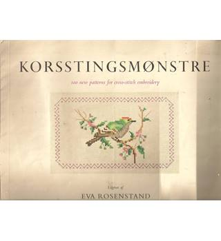Korsstingsmønstre : 100 new patterns for cross-stitch embroidery
