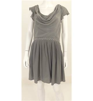 Armani Exchange Size: S Grey Silk Dress