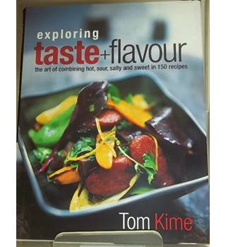 Exploring taste + flavour- First Edition, Signed copy