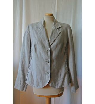 Per Una - Size: 16 - Grey - Smart jacket / coat