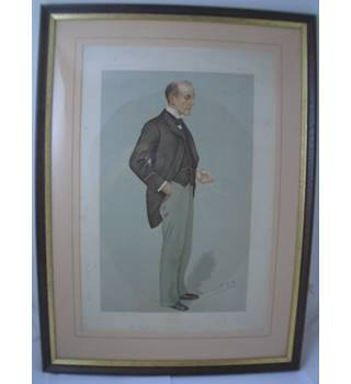 "Spy ""Anthony Hope"" 1895 - Size M - Antique Vanity Fair - Print"