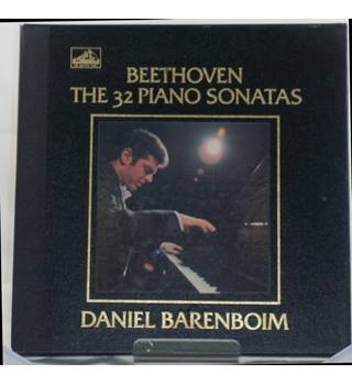 *REDUCED* The 32 Piano Sonatas - Daniel Barenboim -  Beethoven -  IE 153 50042/53