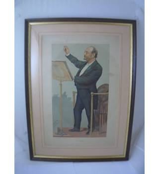 "Spy ""Albert Hall"" 1894 - Size M - Antique Vanity Fair Print"