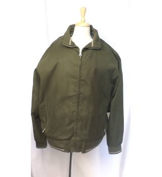 M&S Collection - Size: XXL - Khaki Green - Bomber jacket