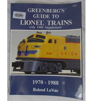 Greenberg's Guide to Lionel trains, 1970-1988