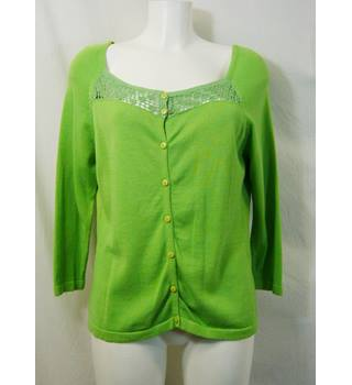 David Emanuel - Size: 16 - Green - Cardigan
