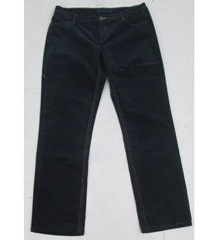 C&A Size: 16  Navy Blue Cord Jeans